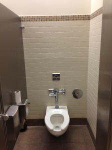 Where are the toilette seat covers?